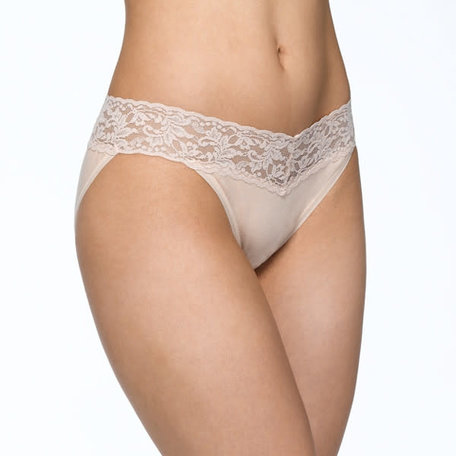Supima Cotton V-Kini w/ Lace