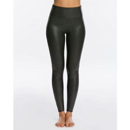 2437 Faux Leather Leggings