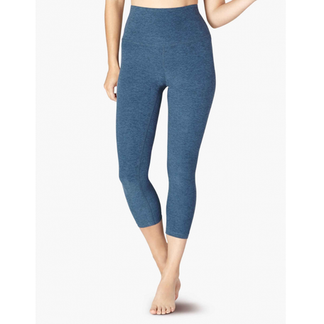 SD3106 Spacedye High Waisted Capri Legging
