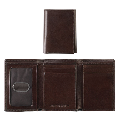 Trifold Wallet Italian Leather