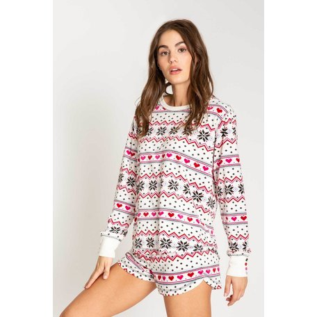 Holiday Love LS Top