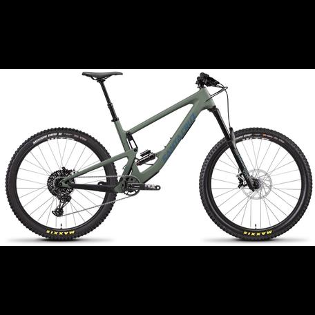 2020 Santa Cruz Bronson 3 C S-Kit Med Sage Fox Factory Custom