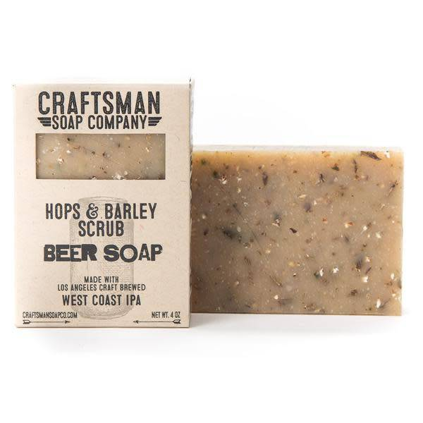 Craftsman Soap Co Craftsman Hops & Barley Scrub Beer Soap