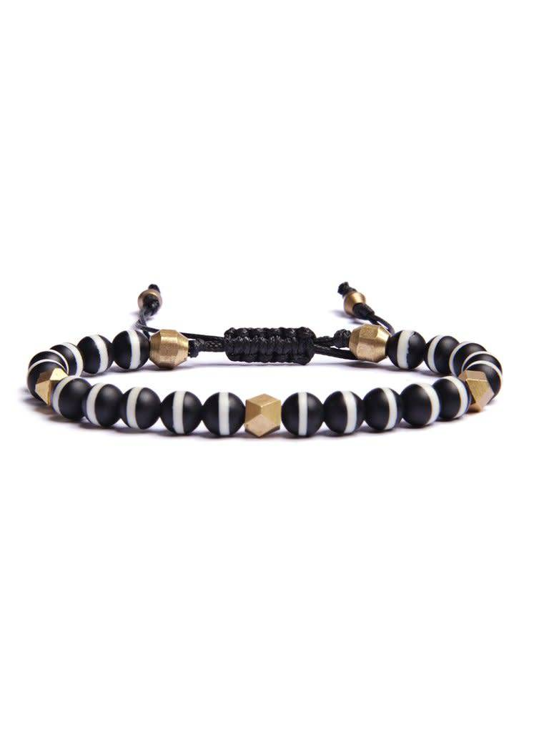 We Are All Smith We Are All Smith Tibetan Agate Beaded Bracelet