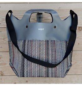"""EQPD EQPD Last Bag Mesh 17"""" shoulder Grey"""