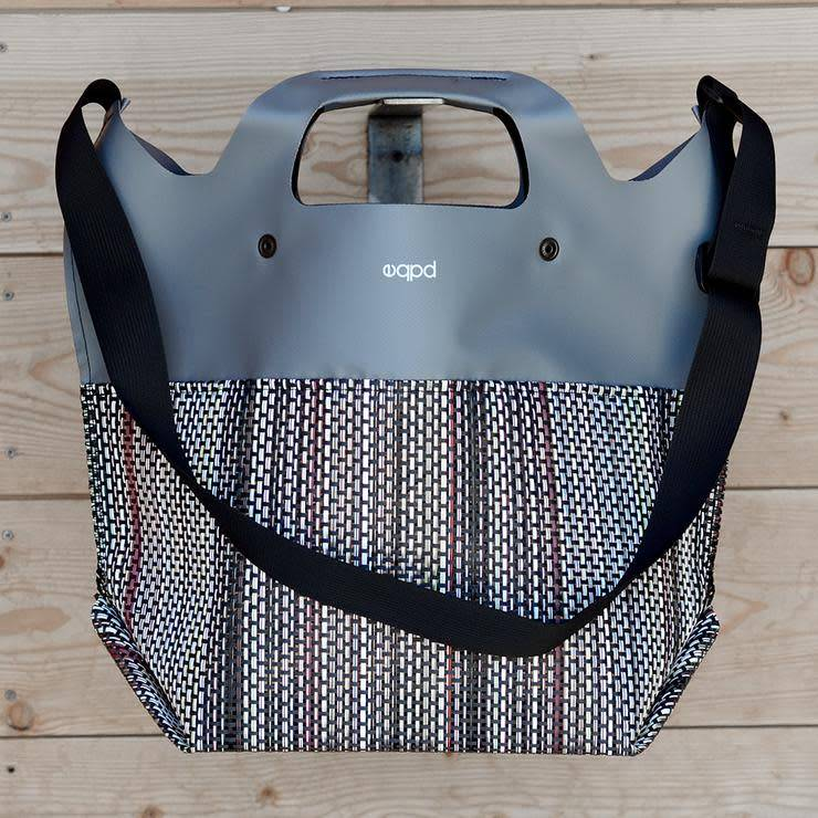 "EQPD EQPD Last Bag Mesh 17"" shoulder Grey"