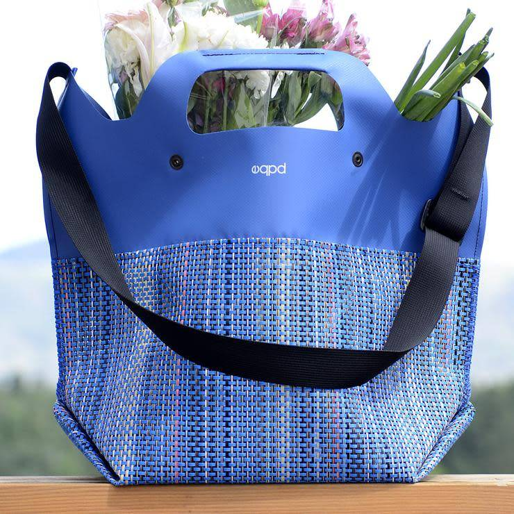 "EQPD EQPD Last Bag Mesh 17"" shoulder Royal"