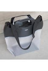 """EQPD EQPD Last Bag 17""""shoulder Black/Clear"""