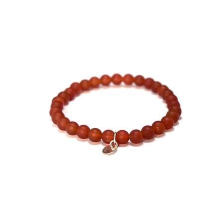 J.Andrew J.Andrew Sunset Bracelet (Red Jade)