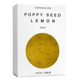 Soprano Labs Soprano Labs Poppy Seed Lemon Vegan Soap
