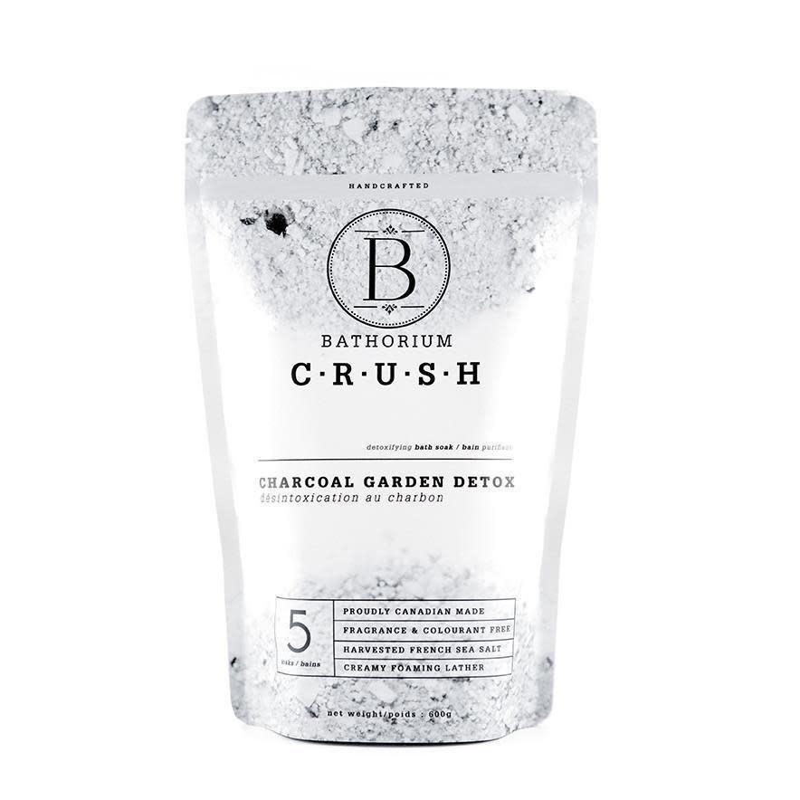 Bathorium Bathorium Charcoal Garden Detox CRUSH Soak