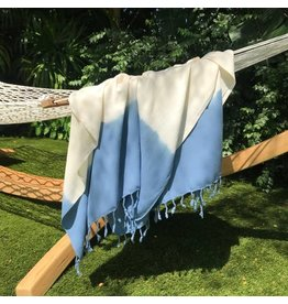 Slate + Salt Slate+Salt Ocean Dip Dye Turkish Towel