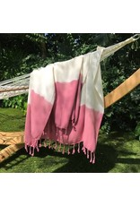 Slate + Salt Slate+Salt Rose Dip Dye Turkish Towel