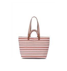 Mercado Global Mercado Global Dominga Tote Stripe Terracotta