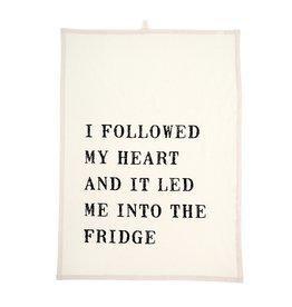 Indaba Indaba I Followed My Heart Tea Towel
