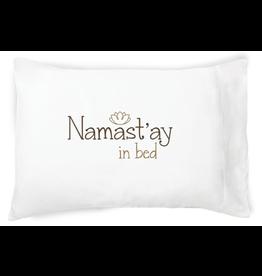 Faceplant Dreams Namastay in Bed-Std(single pillowcase)