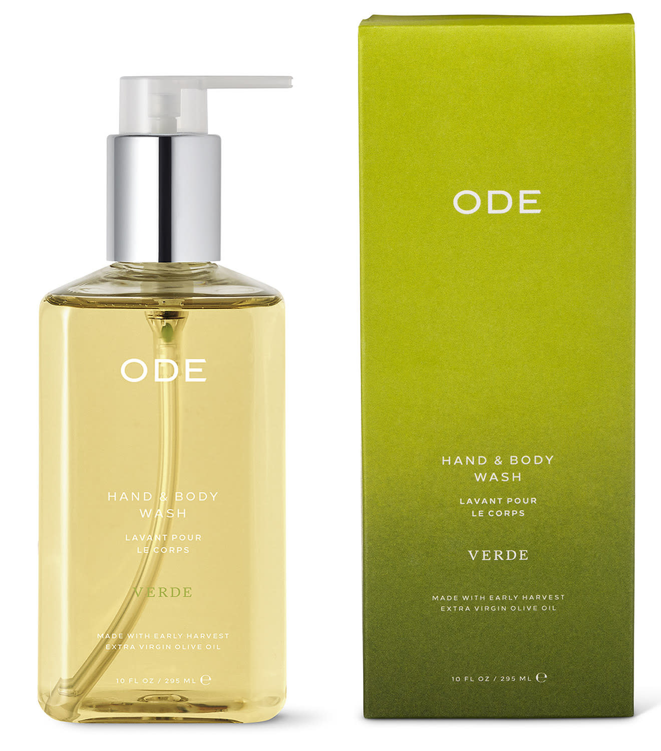 Ode Natural Beauty Ode Natural Beauty Verde Hand & Body Wash