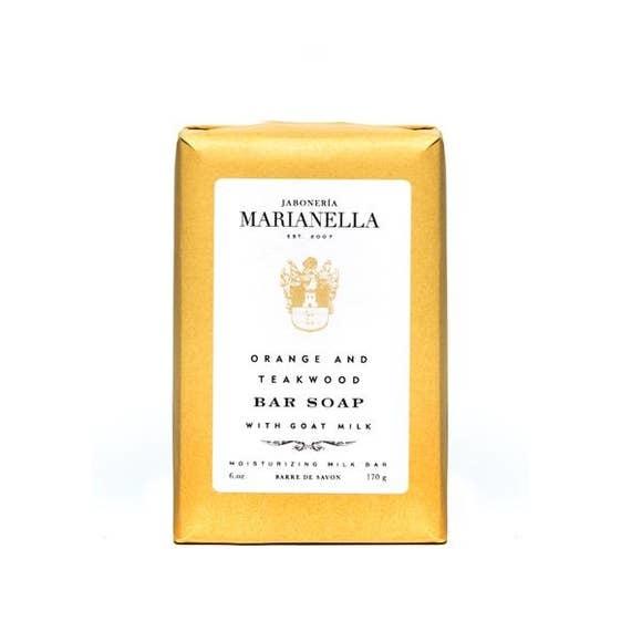 Jaboneria Marianella Marianella Orange & Teakwood Soap