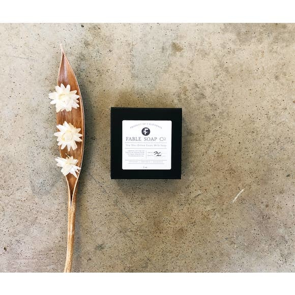 Fable Soap Co Fable Soap Co Tea Tree & Activated Charcoal Soap