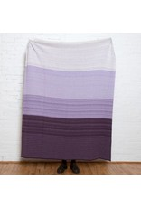 in2green in2green Digital Ombre (Plum/Lavender) Throw