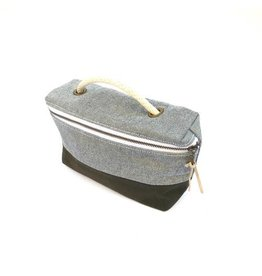Bittle & Burley Bittle & Burley Toiletry Bag (Lt Blue/Navy)