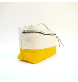 Bittle & Burley Bittle & Burley Toiletry Bag (Natural/Yellow)