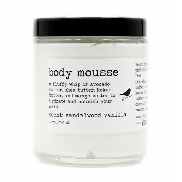 Birdbath BirdBath Body Mousse Sandalwood Vanilla