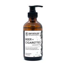 Soap Distillery Soap Distillery Beer & Cigarettes Hand & Body Wash