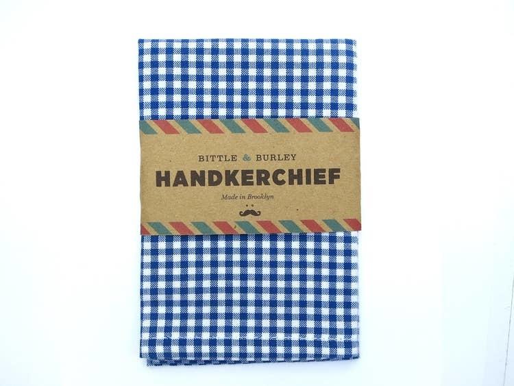 Bittle & Burley Handkerchief (Black Gingham)