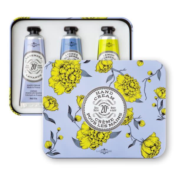 La Chatelaine La Chatelaine Lavender Hand Cream Trio (Lavender, Lychee Bilberry, Lemon Verbena)