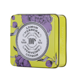 La Chatelaine La Chatelaine Lemon Verbena Travel Tin Soap