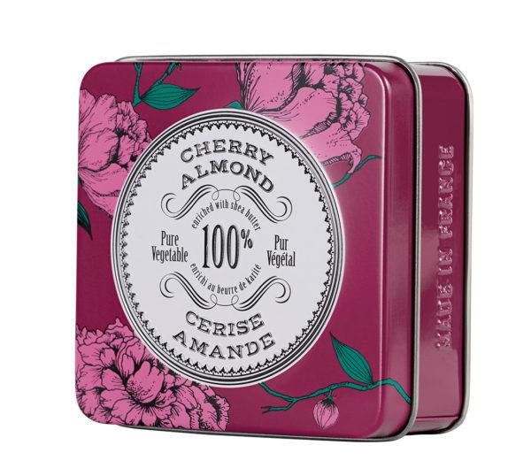 La Chatelaine La Chatelaine Cherry Almond Travel Tin Soap (SALE25)