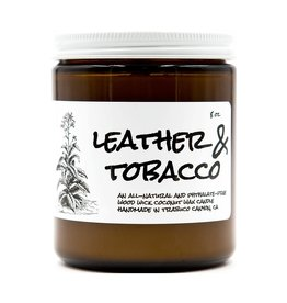 Birdbath BirdBath Leather & Tobacco 8oz Candle