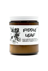 Birdbath BirdBath Fiddle Leaf 8oz Candle