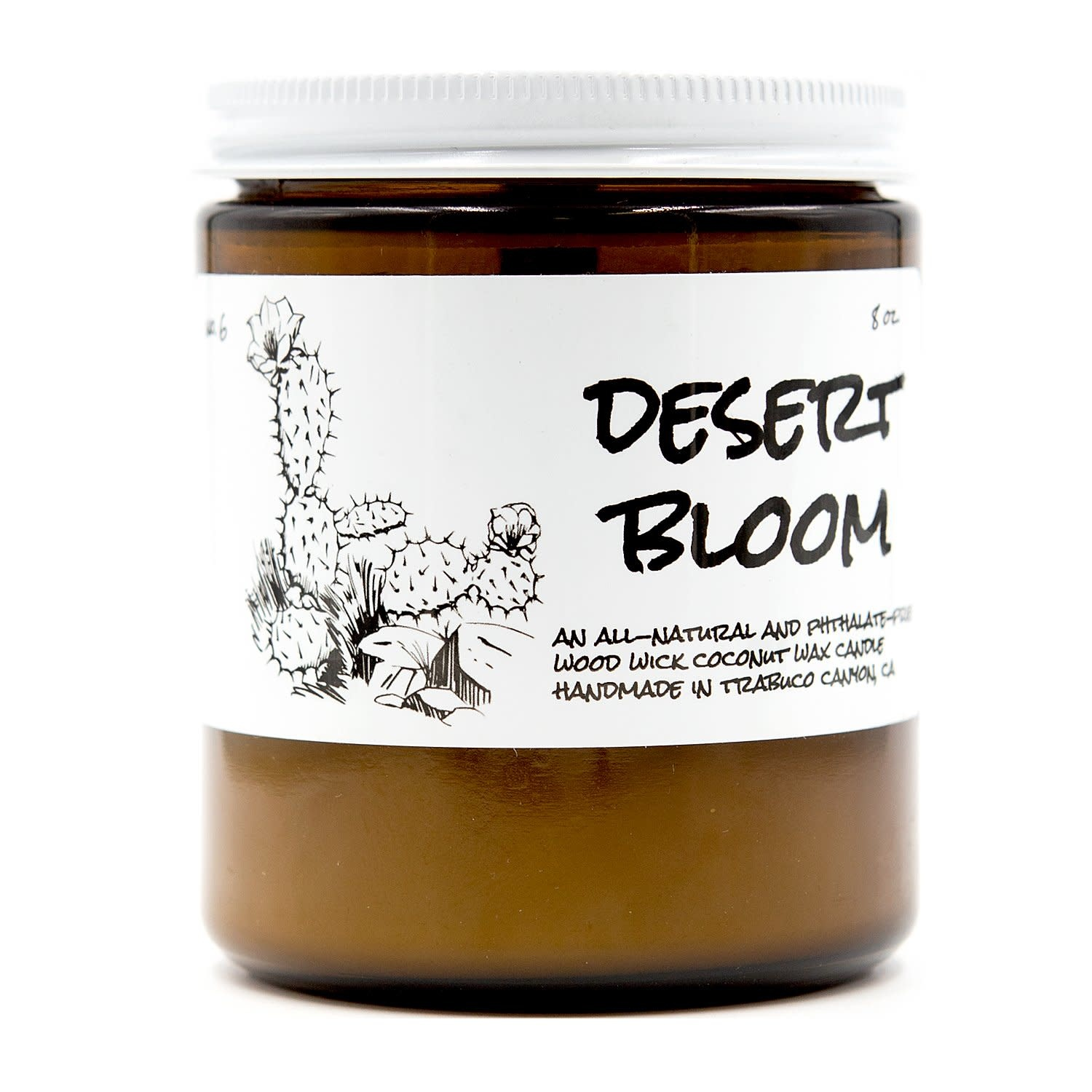 Birdbath BirdBath Desert Bloom 8oz Candle