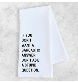 Dev D + Co Dev D + Co Sarcastic Answer Tea Towel