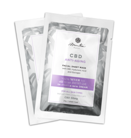 Mantra Mask Mantra Mask CBD Anti Aging Facial Sheet Mask
