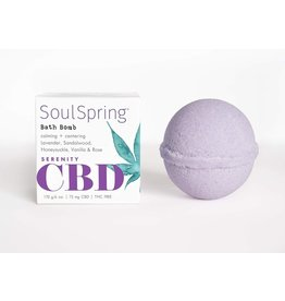 SoulSpring SoulSpring Serenity CBD Bath Bomb