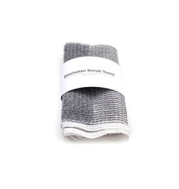 Morihata Morihata Binchotan Charcoal Body Scrub Towel