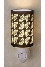 Porcelain Garden Porcelain Garden Silhouette Night Light Ginkgo Leaf
