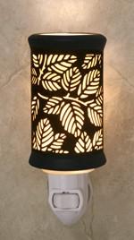 Porcelain Garden Porcelain Garden Silhouette Night Light Leaves (SALE40)