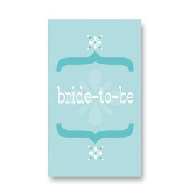 Rock Scissor Paper Rock Scissor Paper Bride To Be - Enclosure Card