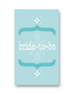 Rock Scissor Paper Rock Scissor Paper Bride To Be - Enclosure Card