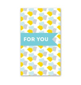 Rock Scissor Paper Rock Scissor Paper For You Yellow/Blue - Enclosure Card