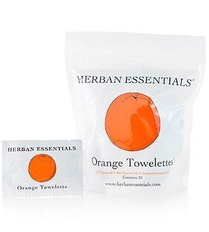 Herban Essentials Herban Essentials Orange Towelettes