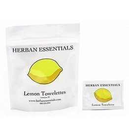 Herban Essentials Herban Essentials Lemon Towelettes