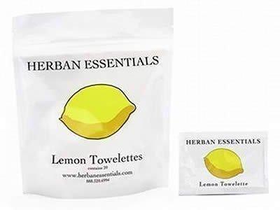 Herban Essentials Herban Essentials Lemon Towelettes