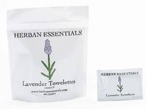 Herban Essentials Herban Essentials Lavender Towelettes