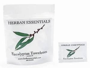 Herban Essentials Herban Essentials Eucalyptus Towelettes