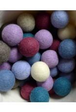 LooHoo LooHoo Single Wool Dryer Balls Assorted Colors